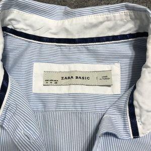 Zara Basic Ladies Button Up